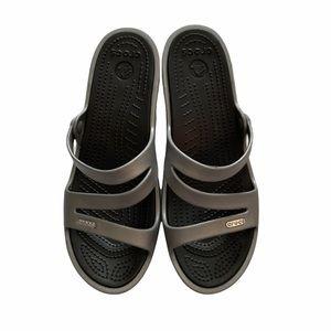 ❤️🔥4 For $25❤️🔥 Crocs Women's Patricia Sandal Size W9